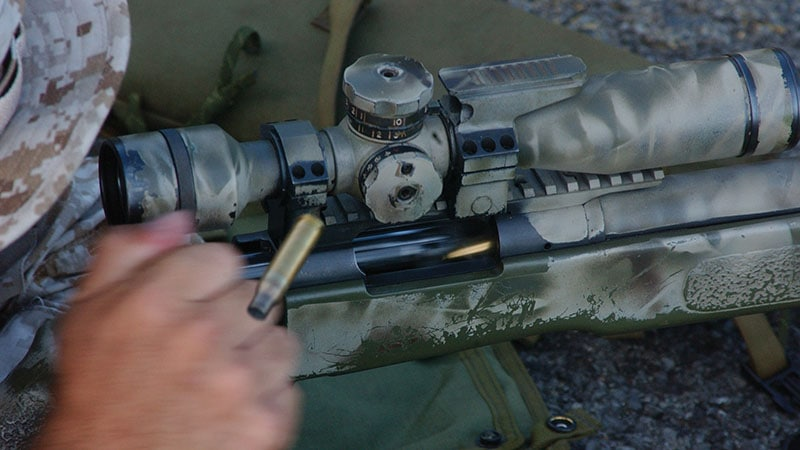 how a bolt action rifle trigger works