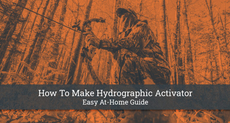 How To Make Hydrographic Activator