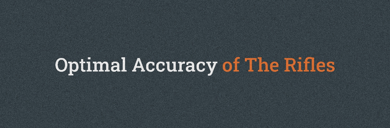 Optimal Accuracy