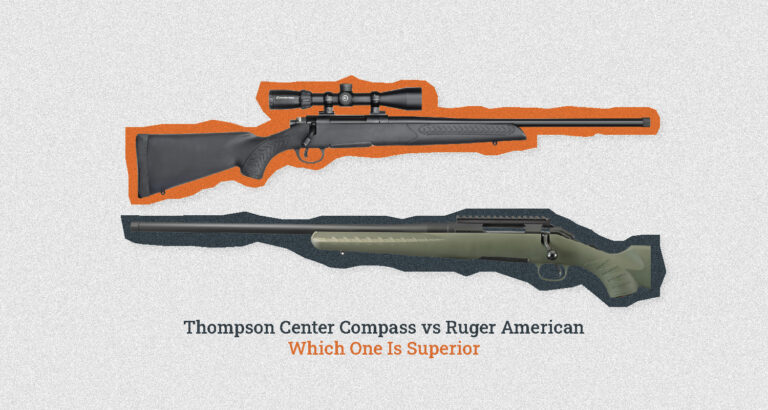 Thompson Center Compass vs Ruger American