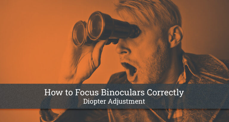 How to Focus Binoculars Correctly