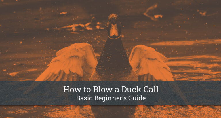How to Blow a Duck Call