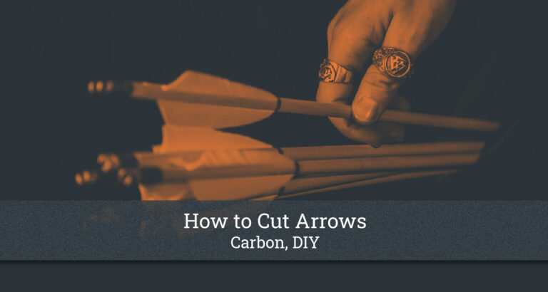 How to Cut Arrows
