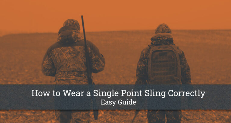 How to Wear a Single Point Sling Correctly