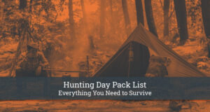 Hunting Day Pack List
