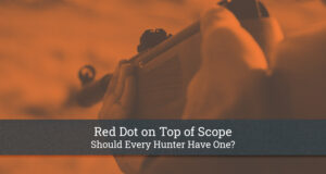 Red Dot on Top of Scope