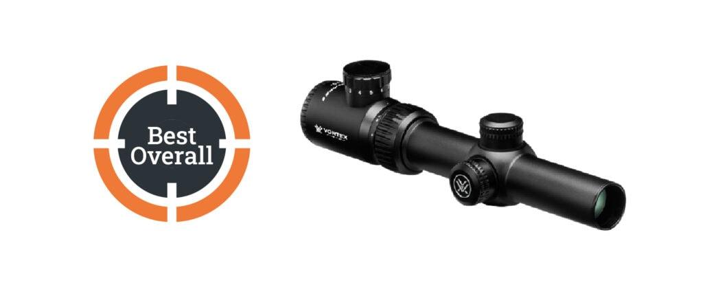 Vortex Optics Crossfire II 1-4x24 DFP Riflescope