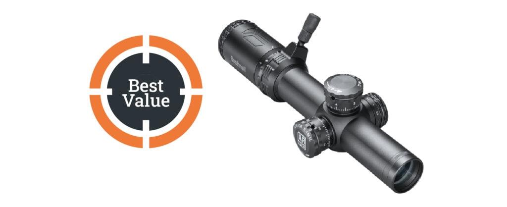 Bushnell AR Optics 1-4x24mm Throw Down PCL Riflescope
